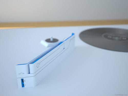 回家翻老唱片去 超现代便携式留声机