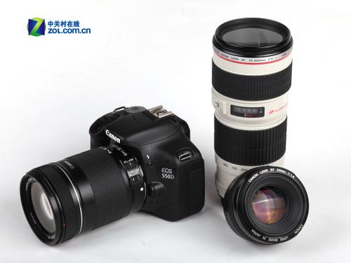 1800万像素+1080p摄像 佳能550D评测首发