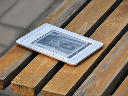 全球智商最高的电子阅读器易万卷MReader S6-5w图赏