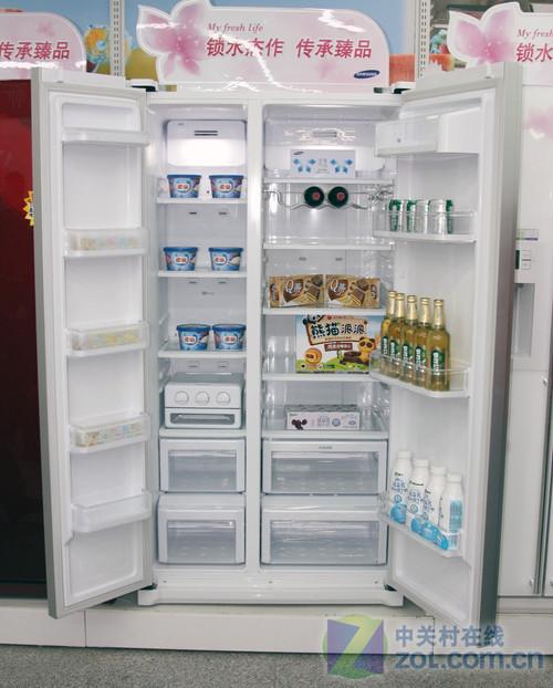 新品抢先看 三星对开门冰箱现11409元