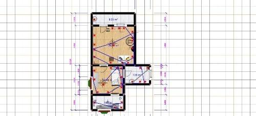 爱福窝3d家装设计软件 水电布线更轻松