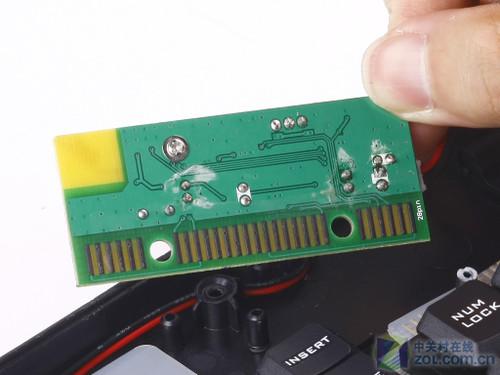 摩天手x100无线套装 键盘主控电路板