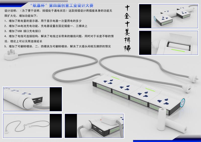 【高清图】航嘉第四届工业创意设计大赛获奖产品