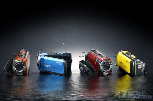 莱彩M-HD01超强防水DV 暑期清凉价上市