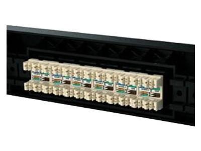 AMP 超五类24口配线架406330-1