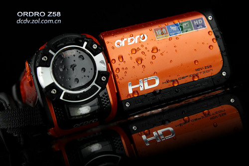 水下3米高清摄像!欧达潜水DV Z58图赏