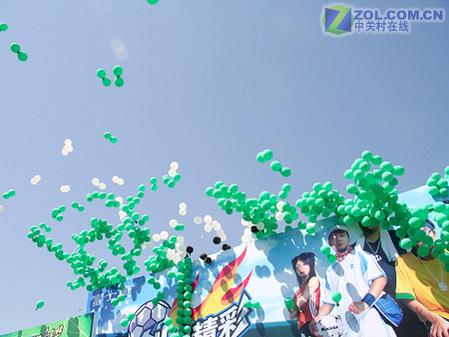 放飞气球; 上海气球 气球拱门
