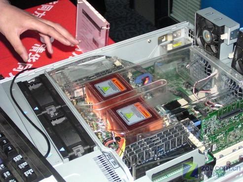 大量采用模块化设计的清华同方四路八核opteron服务