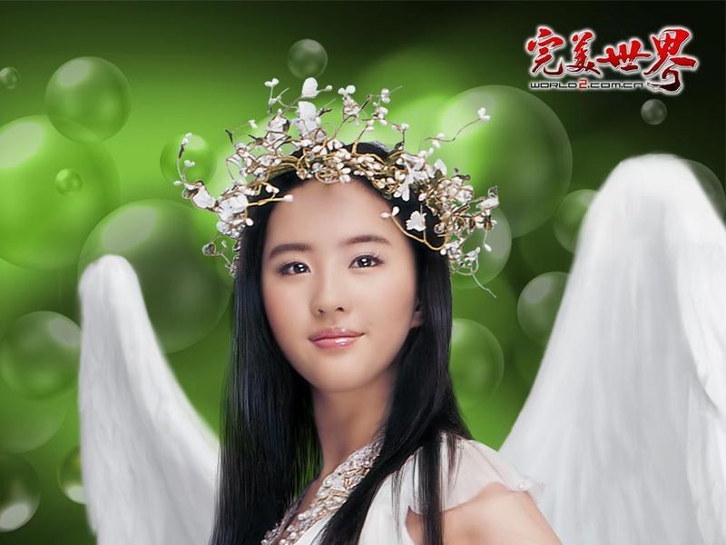 【高清图】小龙女刘亦菲14日将做客《完美》电台