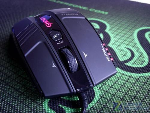 超越g500?技嘉旗舰鼠标m8000x拆解测试 原创