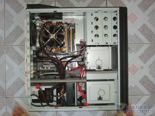 (原始大图); 机箱内部结构; 电脑主机内部结构
