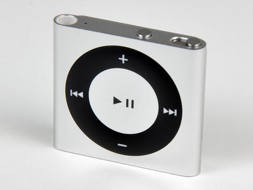 银白色苹果iPod shuffle亚马逊售338元