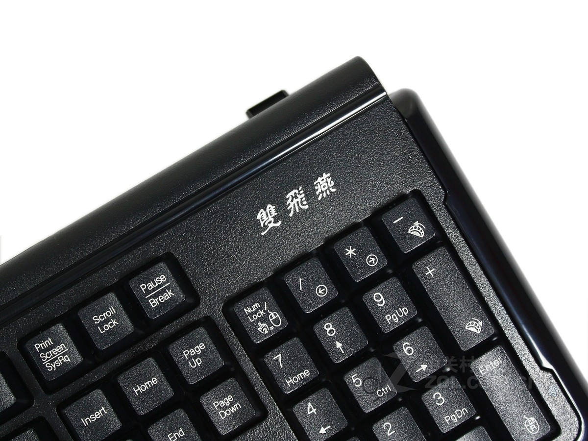 【高清图】 双飞燕(a4tech)g1000冠胄x7键鼠套装键盘右侧 图21