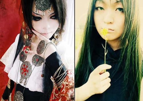 中国cos界那些神coser的素颜对比图; 【黄山】; 当红coser素颜真容