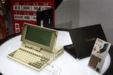 东芝展示了笔记本产品的鼻祖——东芝T1100。