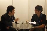 ZOL前方记者正在采访明基品牌经理王亮先生。