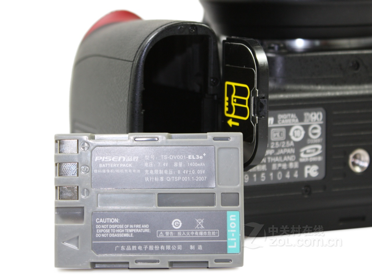 【原始大图】尼康d90系列电池仓图片欣赏-zol中关村