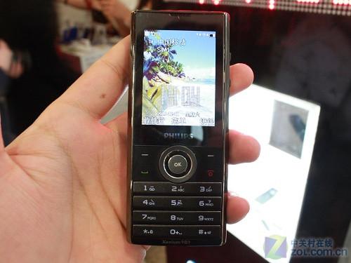 飞利浦X513手机细节