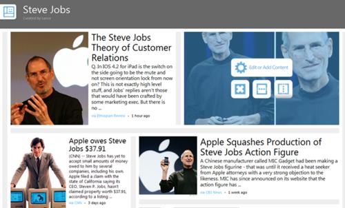 微软为用户量身打造个人版网页专辑