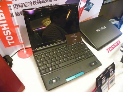 东芝发布NB520上网本 加入高音质扬声器