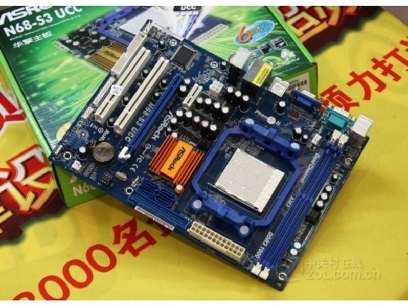 【高清图】 最佳开核平台 华擎n68-s3 ucc主板仅320图4