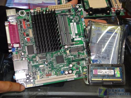 1500元装双核主机 Intel D525套装促销