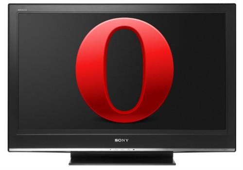 索尼TV及蓝光播放器将预装Opera浏览器