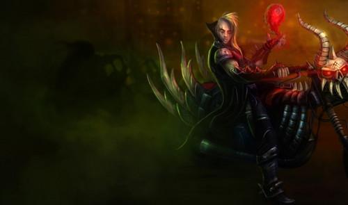 美服隐藏新皮肤:恶灵骑士吸血鬼