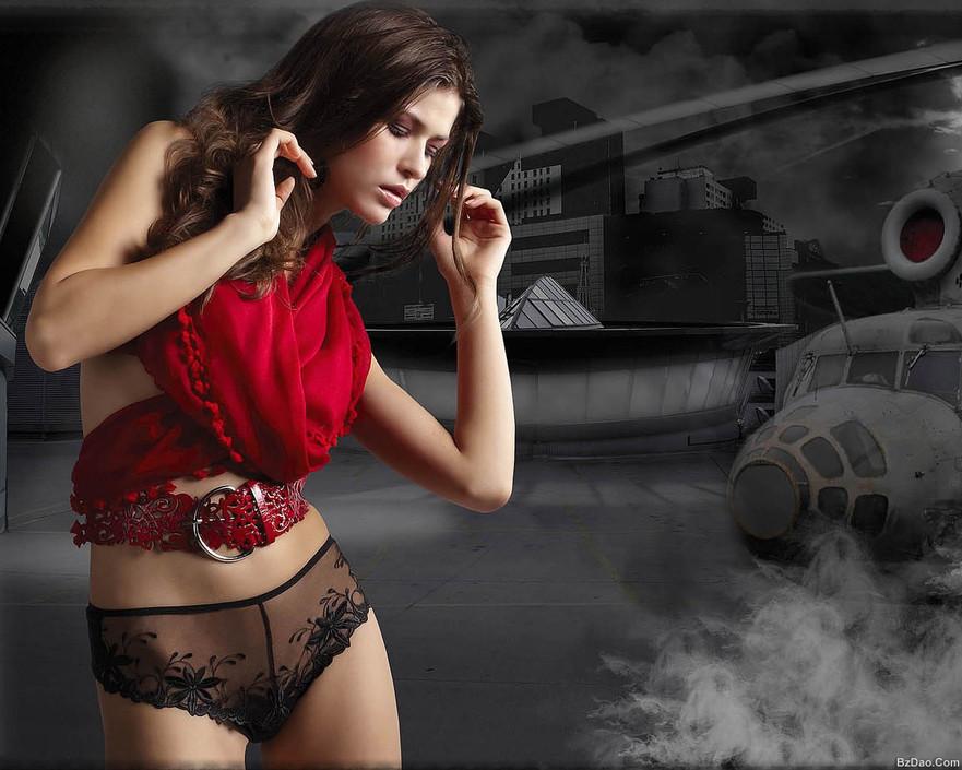女性服饰美女壁纸