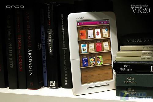 昂达VK20七英寸彩屏电子书上市售价599元