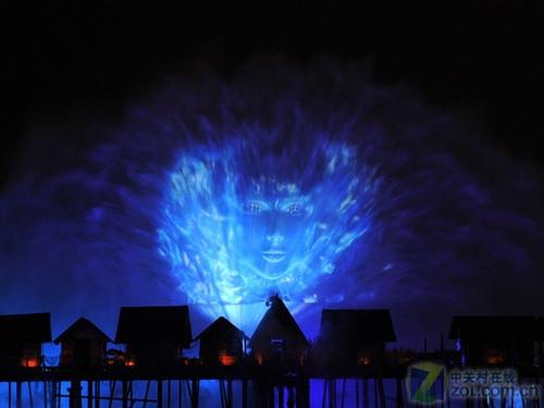 超级水幕投影无限视觉体验-中关村在线
