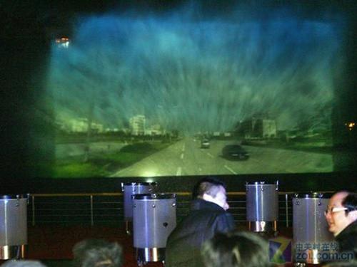 超级水幕投影无限视觉体验
