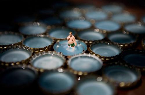 透视神秘小人国 法国摄影家微观影像作品