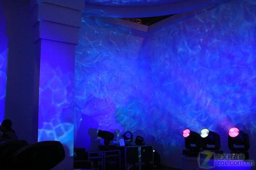 PALM2011:梦幻激光灯现身专业音响展