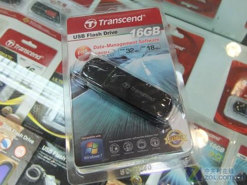 USB2.0之王 创见JF600 16GB优盘特价