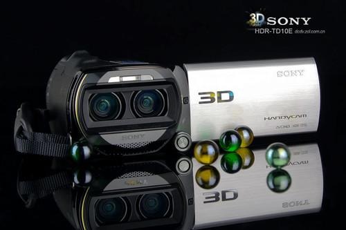 裸眼3D尽享高清 索尼摄像机TD10E图赏