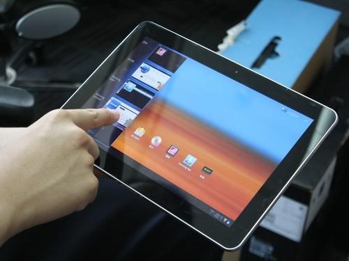 韩系超美机身 三星P7500平板电脑图赏