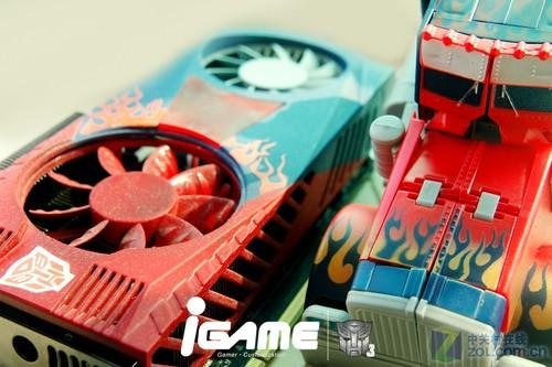 擎天柱进驻机箱 iGAME大师MOD变3显卡