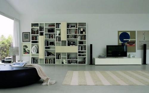 20款电视摆放效果和背景墙设计实例