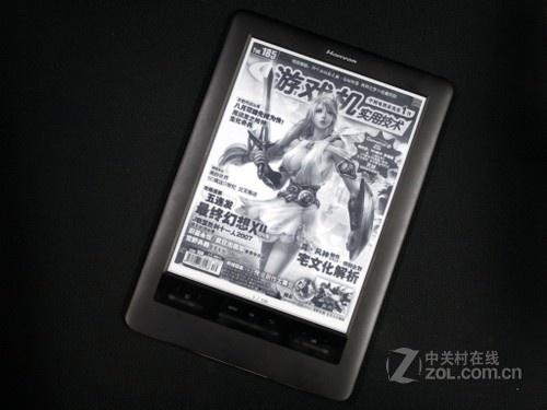 超大屏网页阅读 汉王E920电纸书 视频评测