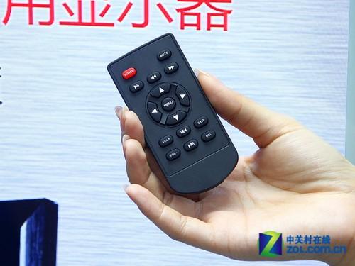 """""""七珑猪""""数字标牌 遥控器正面图-提升品牌形象 七珑猪 广告机独家首图片"""