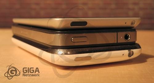 iPhone5概念真机首次亮相 纤薄时尚动心