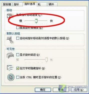 关于Win7关闭鼠标加速的特别说明