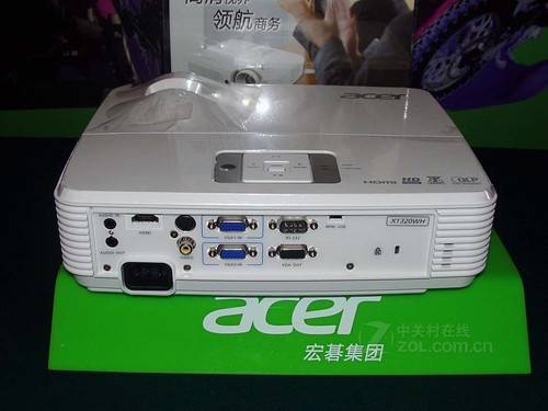 720p宽屏投影 Acer X1320WH售3888元
