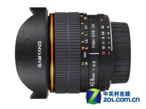 三洋发布尼康cpu版8mm f/3.5鱼眼镜头
