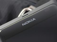 诺基亚 800 黑色 听筒图