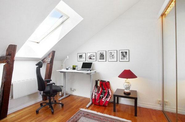 空间利用有学问 国外阁楼创意设计(1)图片