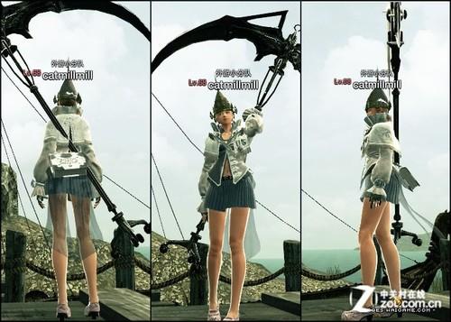 杖娘伊菲布甲皮甲全职业套装展示 网络游戏 中