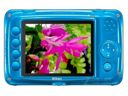 儿童相机也三防 尼康S30现仅售838元