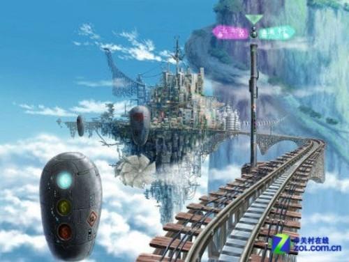 天空之城-科幻虚拟世界 盘点不用导航的4大场景